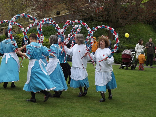 Morris Women at Castle Green