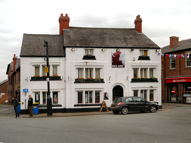 The Red Cow, Knutsford