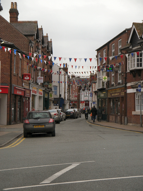 Princess Street, Knutsford