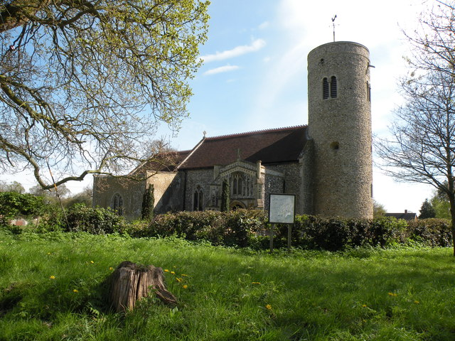 St. Mary: the parish church of Gissing