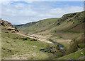 SN8454 : Cwm Irfon north-west of Abergwesyn, Powys : Week 18
