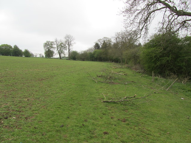Footpath above Piccadilly Wood