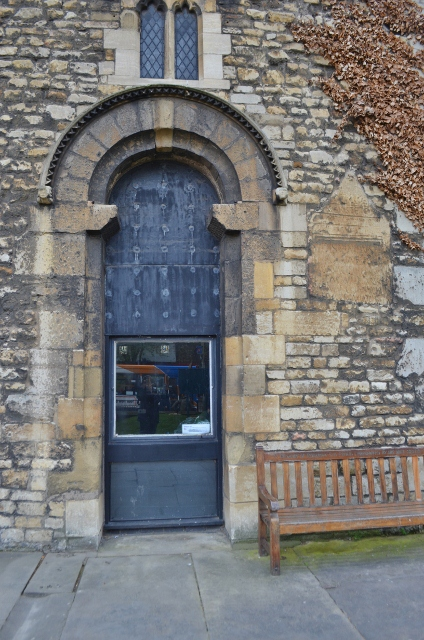 St Mary-le-Wigford Norman Doorway