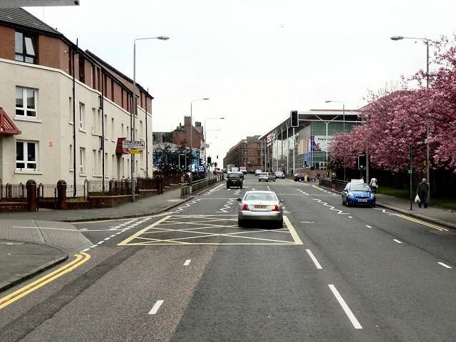 A81, Maryhill Road
