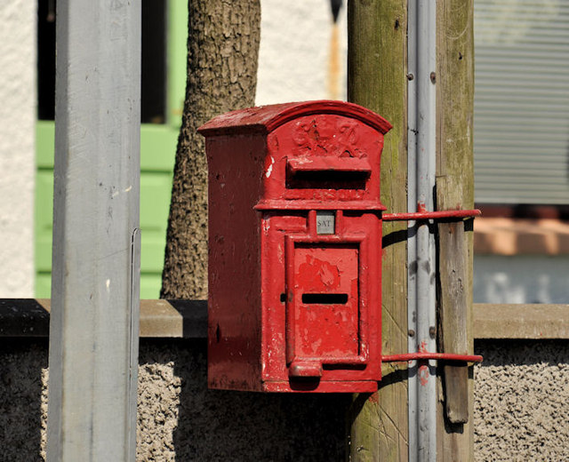 Letter box, Portaferry
