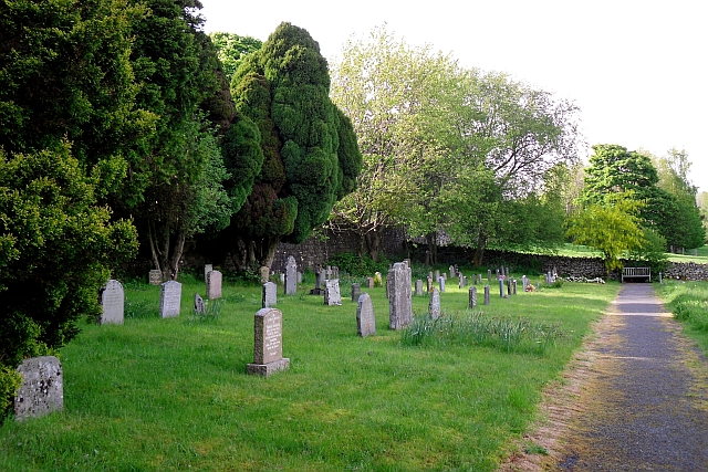 The current graveyard at Matterdale