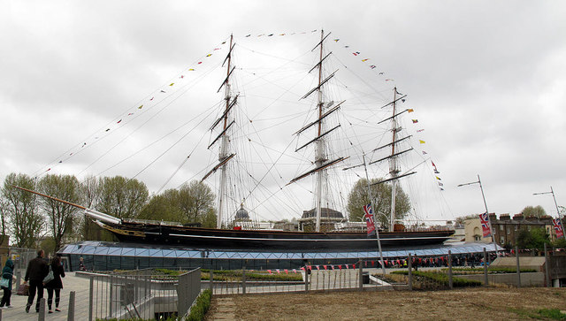 The Cutty Sark in all her glory