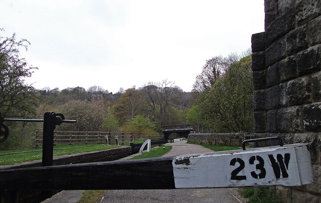 Lock no 23W, Huddersfield Narrow Canal