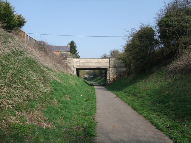 Tonge Lane Bridge over Cycle Route 6
