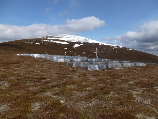 Climate change experiment on the Bealach Dearg