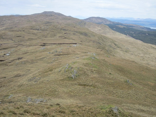 Looking north from Dubh Chreag