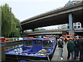 TQ2681 : Westway and Harrow Road Bridges over Canal Paddington by PAUL FARMER
