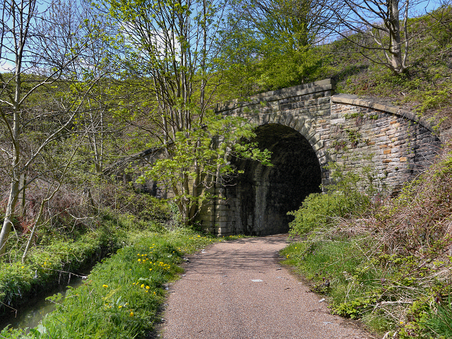 Tunnel Under the East Lancashire Railway