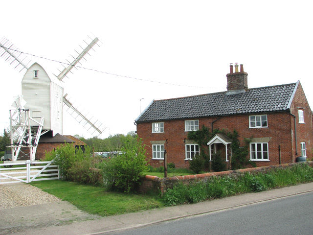 Mill Farm and Upthorpe postmill