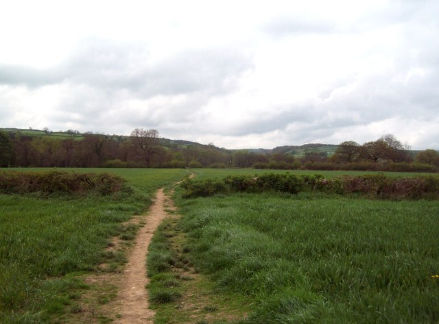 Footpath near Somersall Hall