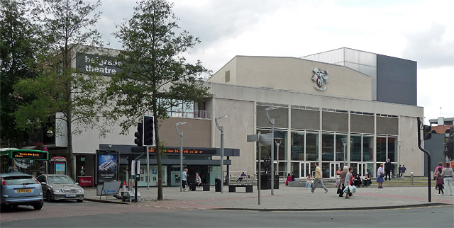 Belgrade Theatre, Corporation Street, Coventry