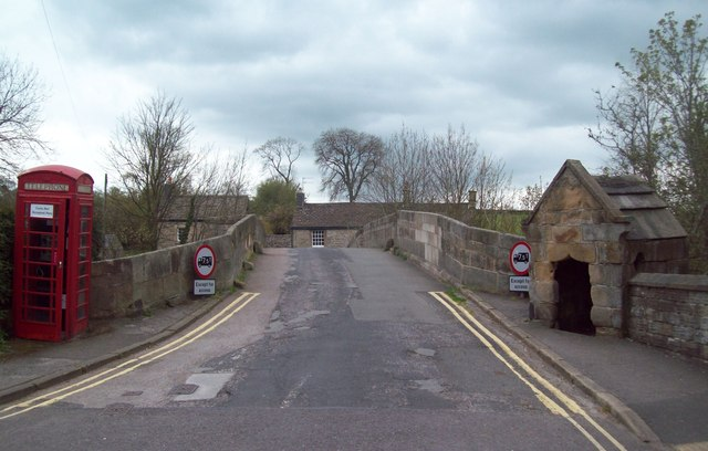 Baslow Old Bridge and Toll House