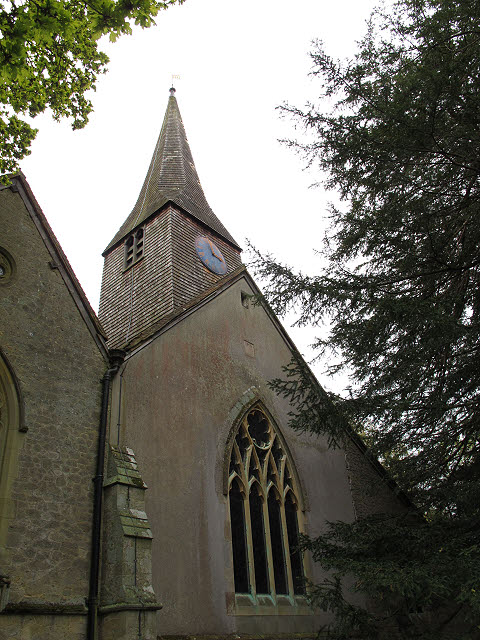 St Peter's church: west end