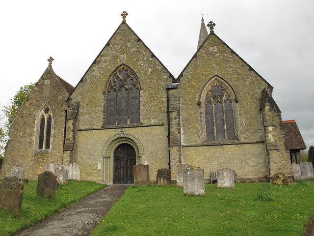 St Nicholas church: west end