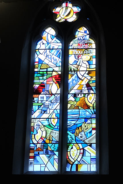 St Nicholas church: Millennium window