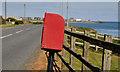 J6558 : Letter box,  Ratallagh near Portavogie by Albert Bridge