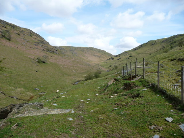 National Trust land in Cwm Gwesyn