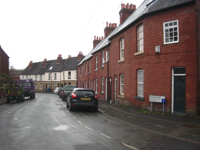 Terraced houses in Parkfield Place