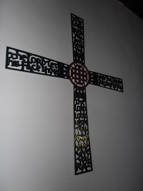 A Fleeting visit to All Saints': cross