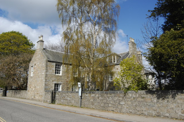 Granite house, Forest Road, Kintore