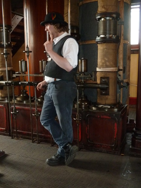 Claymills Victorian Pumping station - the gospel according to Luke