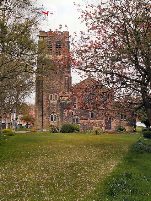 The Parish Church of St Matthew with St Mary, Crumpsall