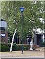 SP3480 : Police lamp, Stoney Stanton Road, Coventry by Stephen Richards