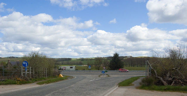 Junction with the A96