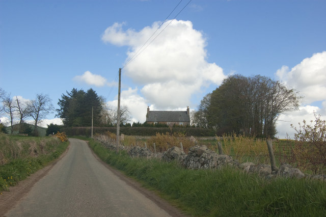 View towards Kirkton Farm