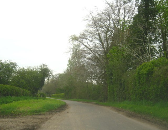 Approach to Preston Candover