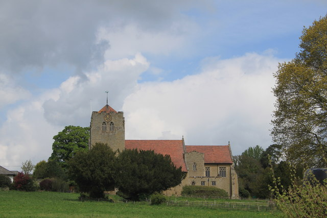 All Saints Church in Richard's Castle