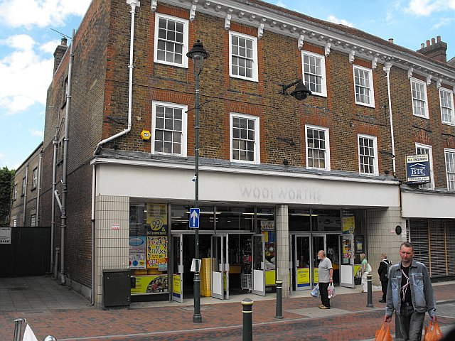 Former Woolworths store, Sittingbourne High Street