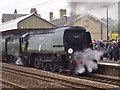 SK7080 : Tangmere 34067 by Ashley Dace
