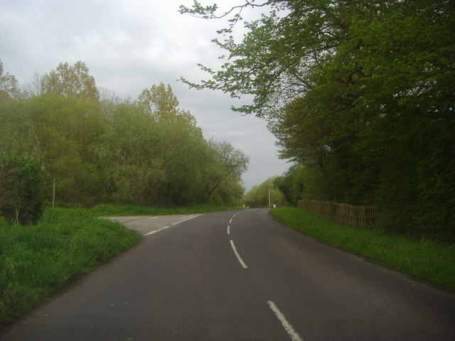 Welsh Lane at the junction of Bull Lane