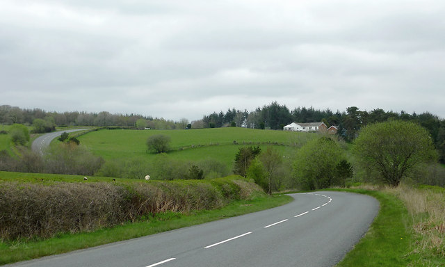 B4358 north-east of Beulah, Powys