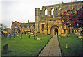 ST9387 : Entrance to Malmesbury Abbey by Trevor Rickard