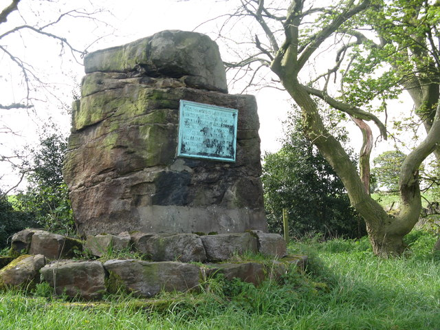 Commemorative plaque in Stocksbridge