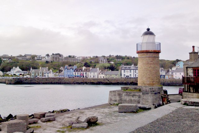 Disused lighthouse, Portpatrick Harbour