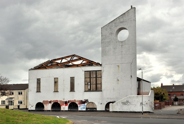Derelict church, Belfast