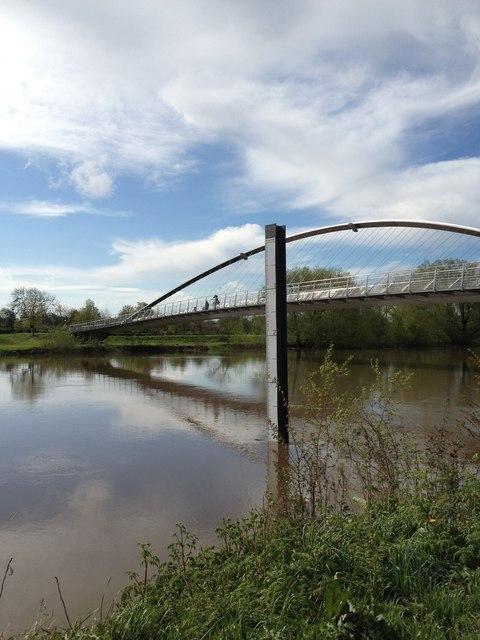 Millennium Bridge, River Ouse, York