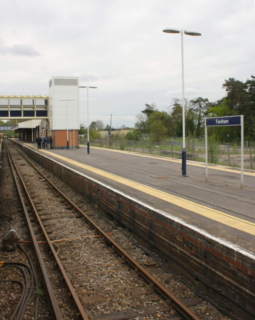 Fareham railway station