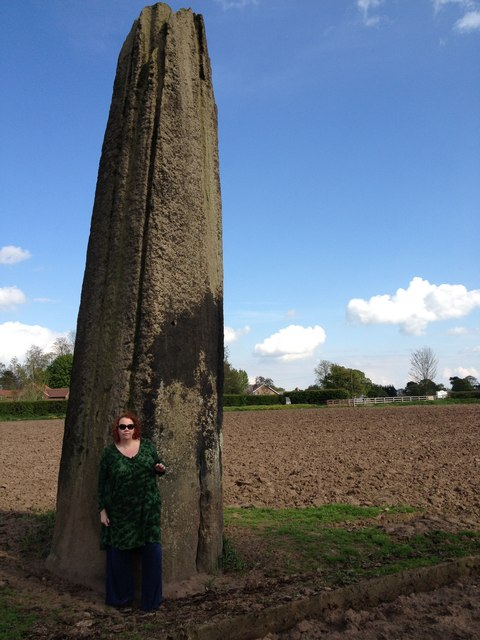 Devil's Arrows, Boroughbridge (close up of 2nd stone)