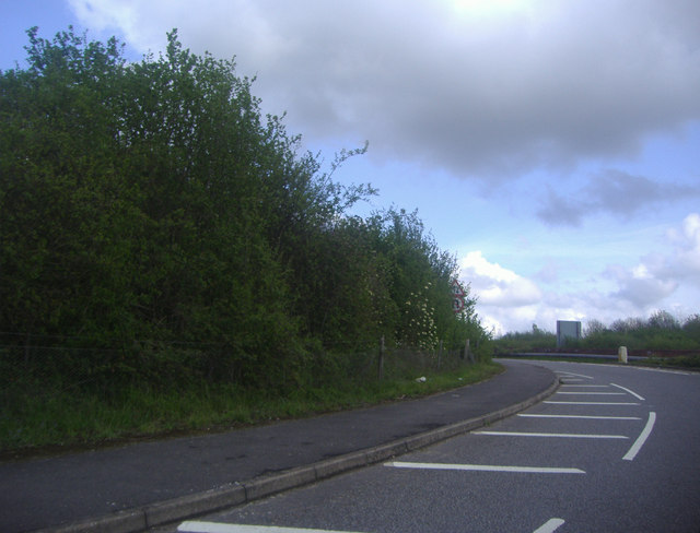 Entrance to the A31, Tongham