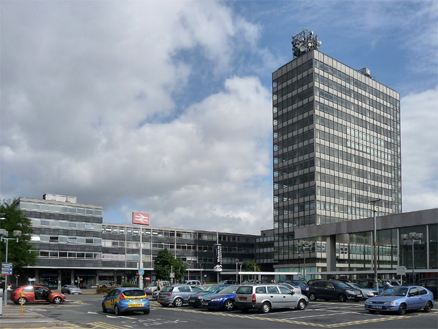 Station Tower and Copthall House, Station Square, Coventry
