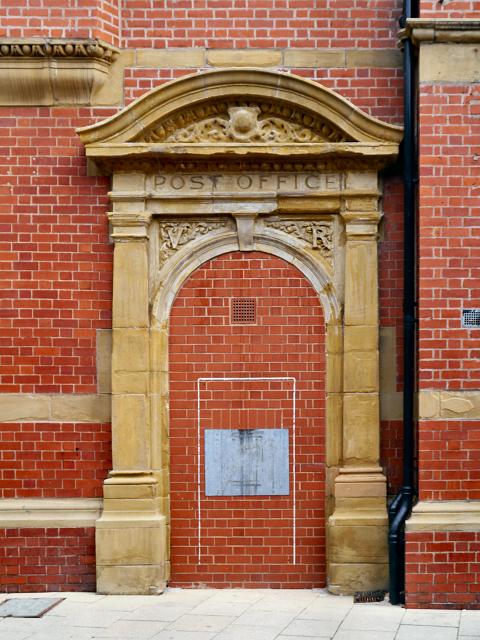 Post Office Doorway